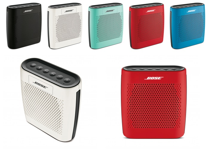 Altavoces BOSE SoundLink Color con Bluetooth lanzados