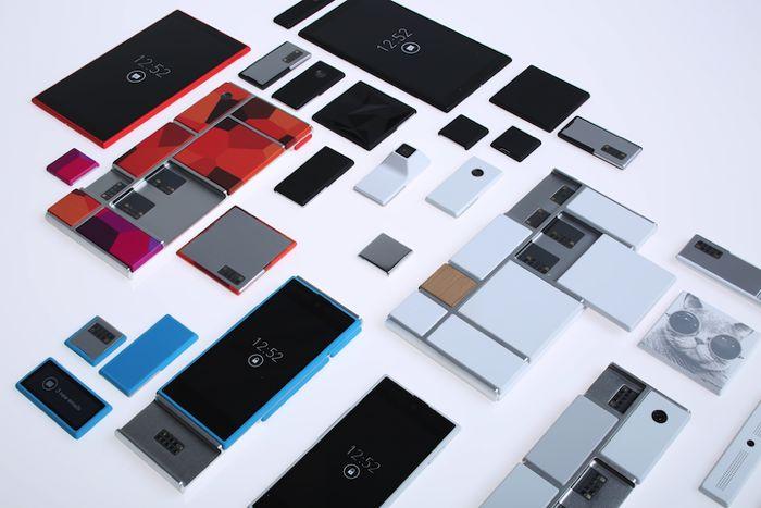 Smartphone Google Project Ara podrá intercambiar sus módulos encendido
