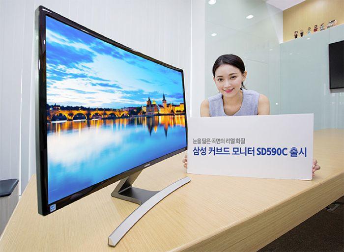 Monitor curvo Samsung SD590C de 27 pulgadas anunciado