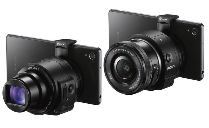 Cámaras Sony QX1 Y QX30 lanzadas oficialmente en IFA 2014