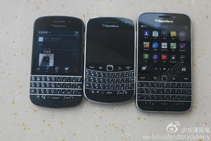 BlackBerry Classic posa para la cámara