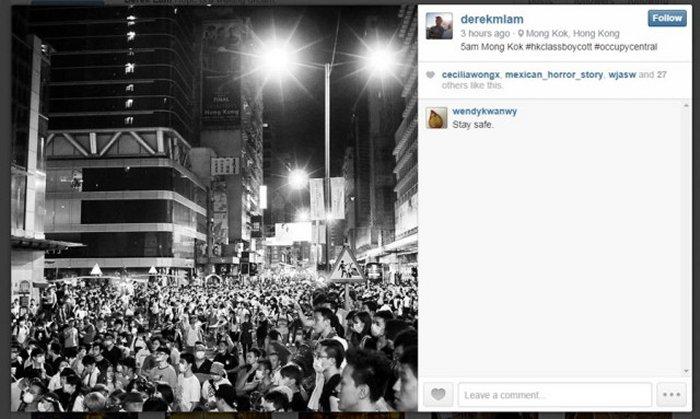 Instagram bloqueado en China tras las protestas en Hong Kong