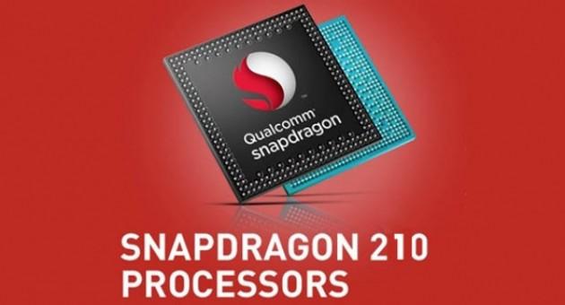 Nuevo Snapdragon 210, Quad Core 1.1GHZ LTE para celulares