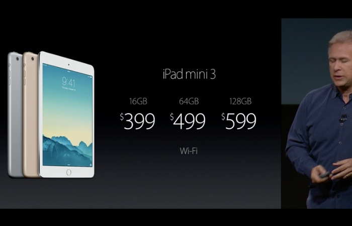 Apple iPad Mini 3 lanzado oficialmente