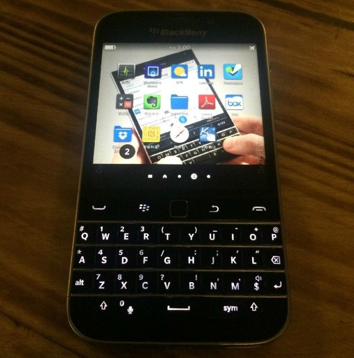 Fotos filtradas del nuevo BlackBerry Classic
