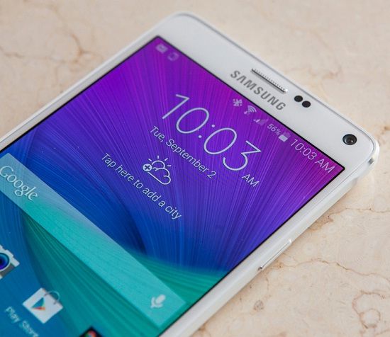 El Phablet Samsung Galaxy Note 4 se puede adquirir en Amazon