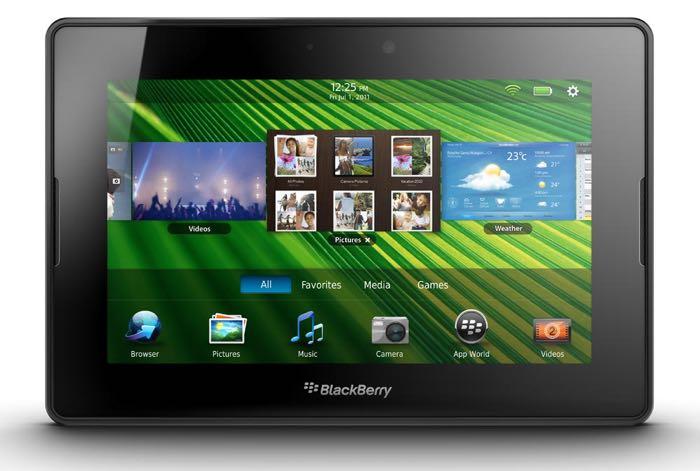 BlackBerry tiene una nueva tablet en desarrollo