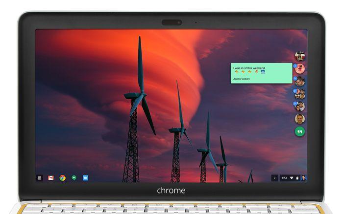Nueva aplicación Google Hangouts para escritorio lanzada