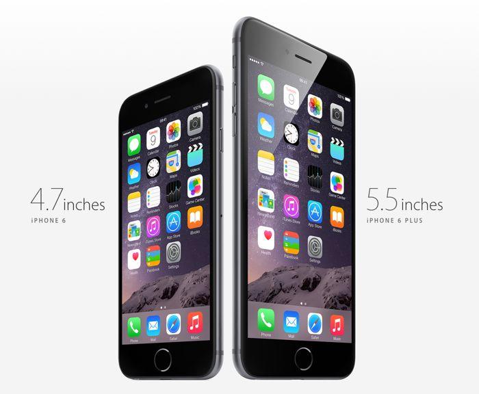 Las ventas del iPhone 6 Plus representan el 60 por ciento del total