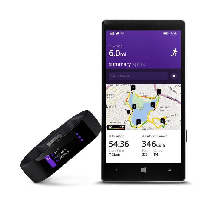 Microsoft lanza su smartwatch para fitnes