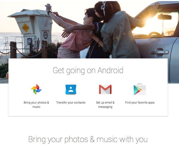 Google quiere ayudar a usuarios de iOS a migrar a Android