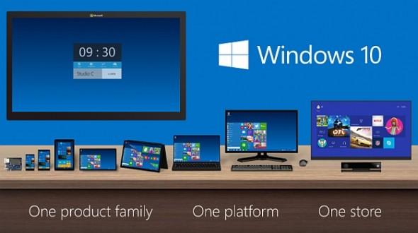 windows 10 --