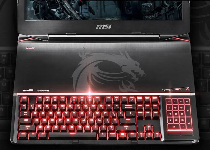 MSI GT80 Titan es la primera laptop del mundo con teclado mecánico