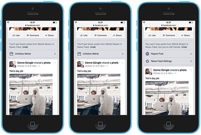 Facebook permite ocultar mensajes molestos de tus amigos