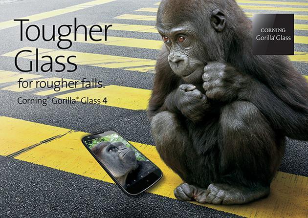 Corning presenta su laminado Gorilla Glass 4