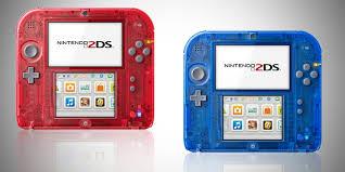 Nintendo devela los sistemas 2DS Crystal Red y Crystal Blue