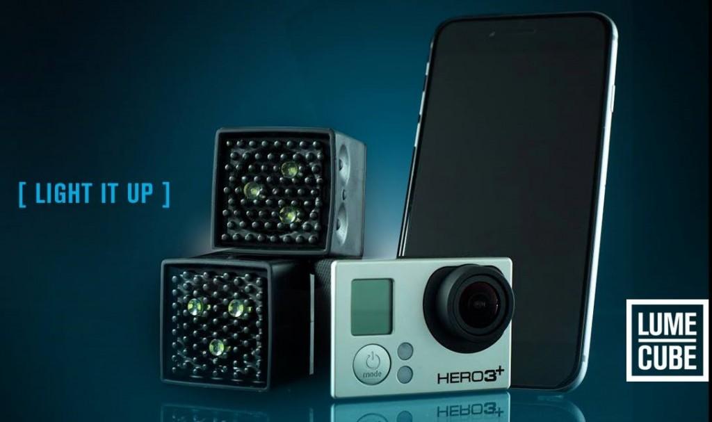 Lume Cube, un pequeño Flash externo para smartphones y GoPro