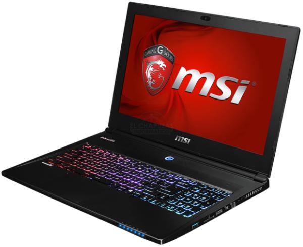 MSI presenta su Portátil Gaming GS60 2QE-093E