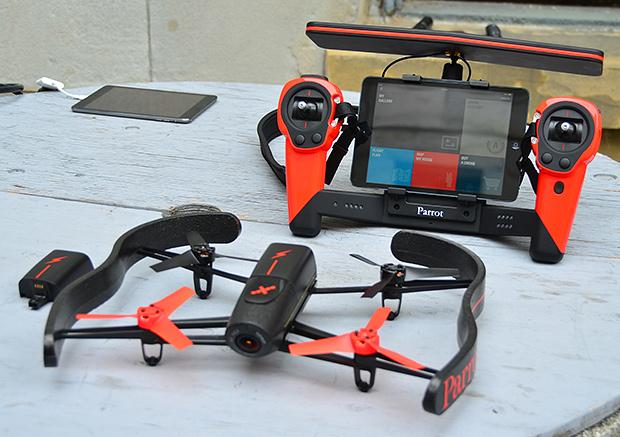Nuevo dron Parrot Bebop anunciado, ahora con video 1080p y más novedades