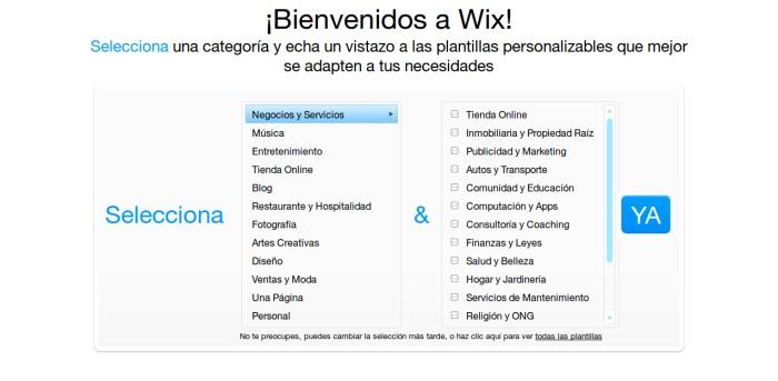 wix-categorias
