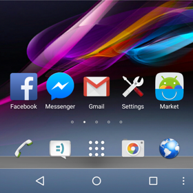 Go Launcher android 2015