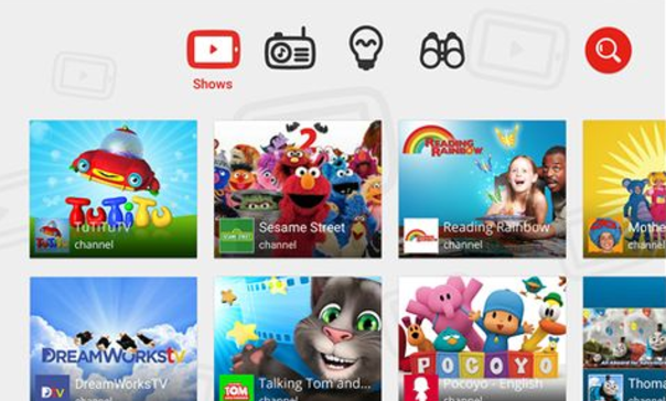 YouTube Kids 2015