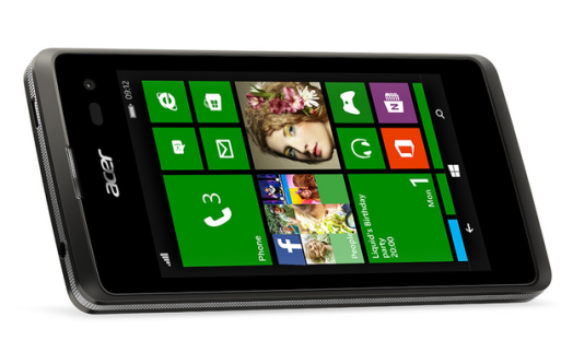 Acer presento al Liquid M220, un smartphone de nivel de entrada con Windows Phone 8.1