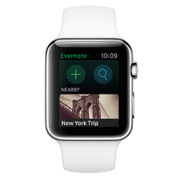 Evernote para Apple Watch 2015