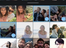 Layout de Instagram para ios