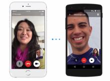 Facebook Messenger videollamadas 2015