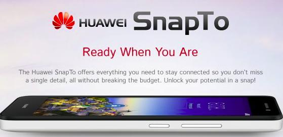 Huawei SnapTo 2015