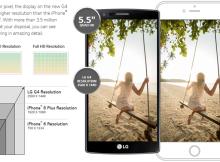 LG G4 iPhone 6 Plus