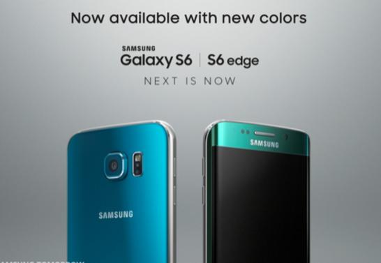 Topacio azul Galaxy S6 Verde esmeralda Galaxy S6 Edge