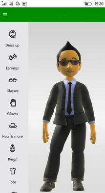Xbox Avatar Windows 10 Mobile