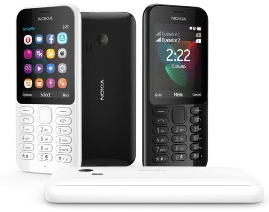 Nokia 222 Dual SIM 2015