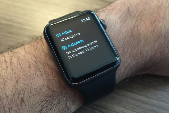 Outlook Apple Watch 2015