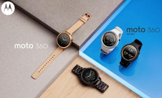 Motorola Moto 360 segunda generacion 2015