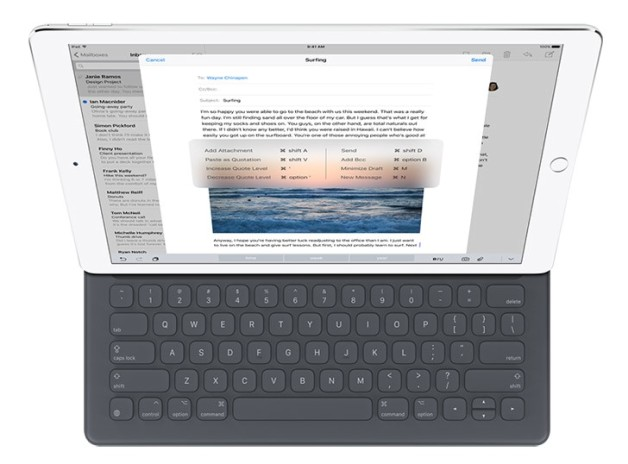 iPad Pro smart keyboard 2015