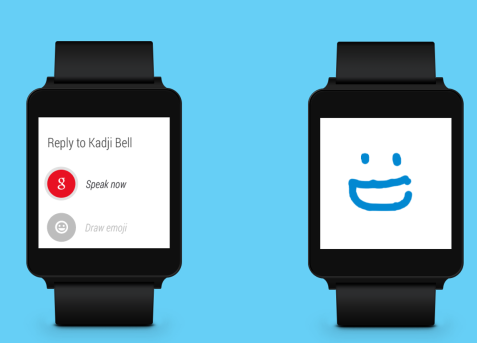 Skype Android Wear 2015