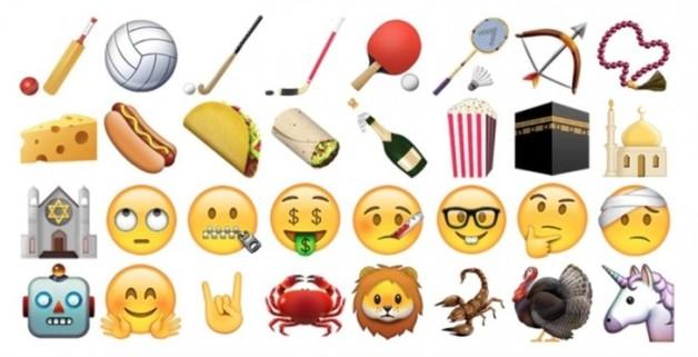 emoticones iOS 9-1 2015