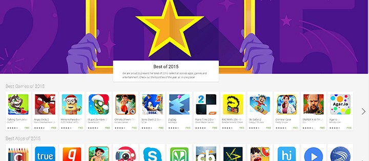 Google Play Store 2015