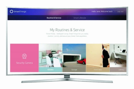 Samsung Smart TV SmartThings
