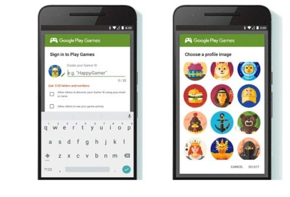 Gamer IDs Google Play 2016